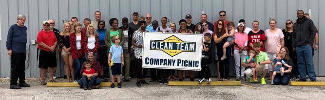 Clean Team Employee Appreciation Picnic