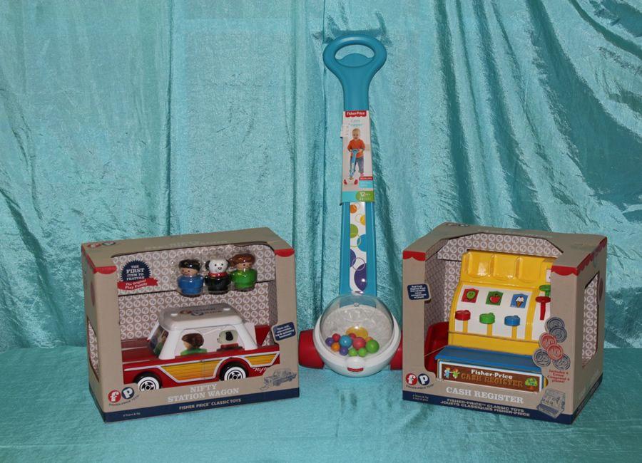 Fisher Price Retro Toys