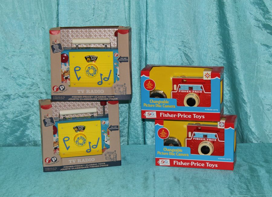 Fisher Price Retro Toys