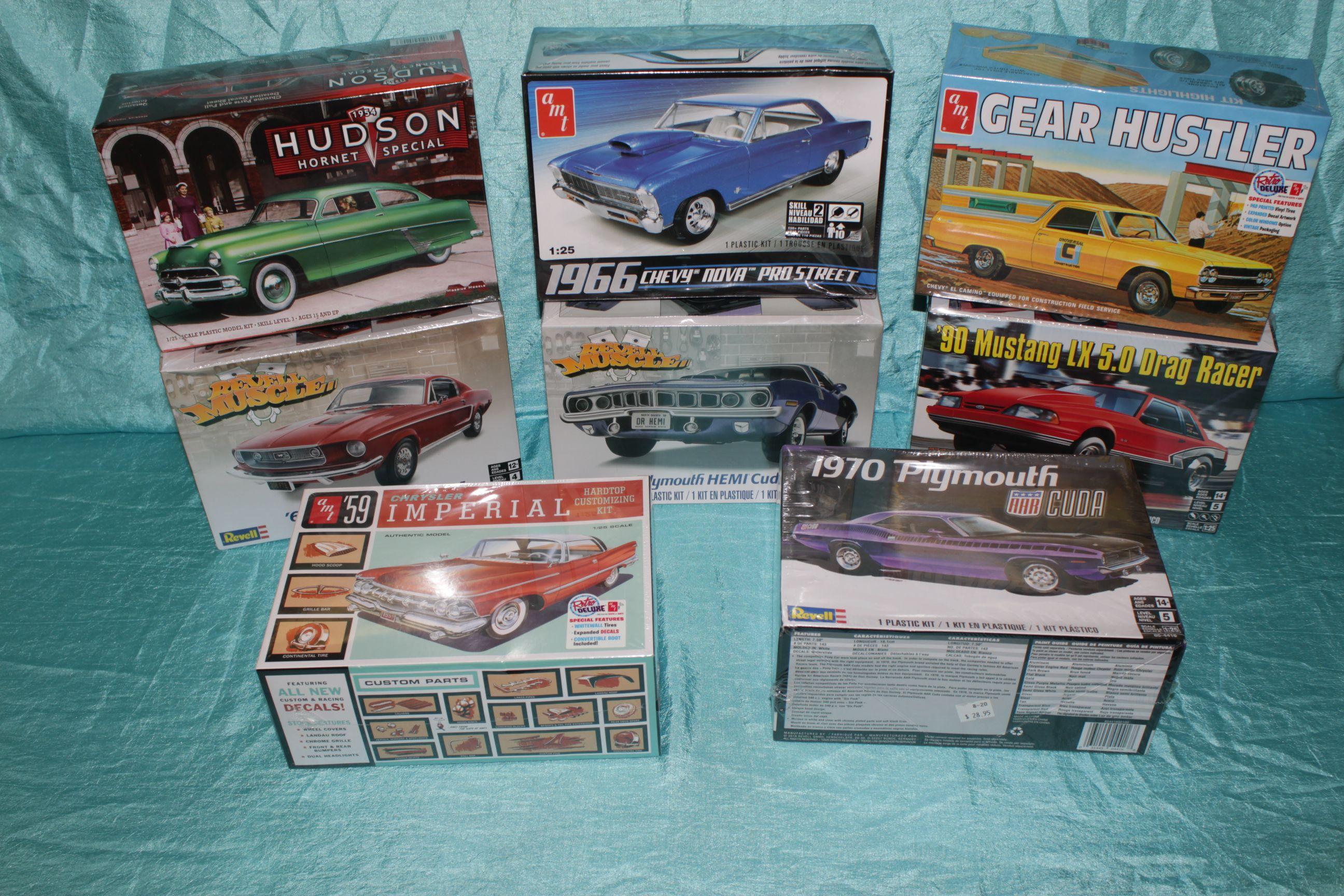 Model Cars, Trucks