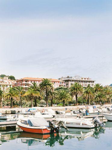 boats in portovenere