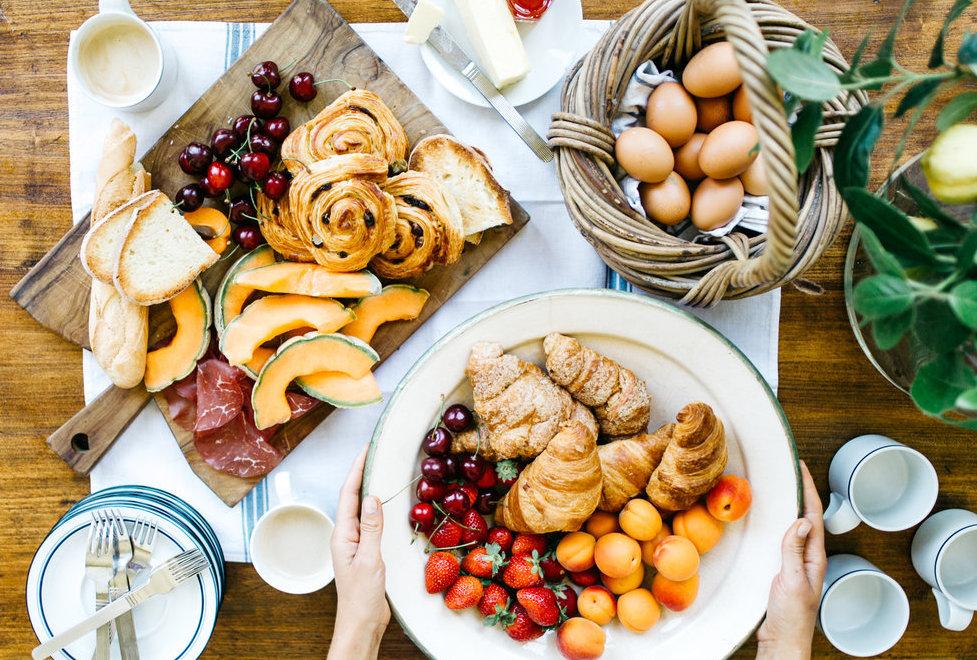 the best breakfast in tuscany