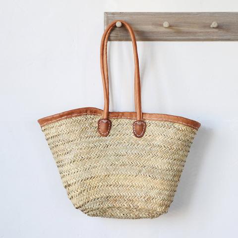 straw market basket