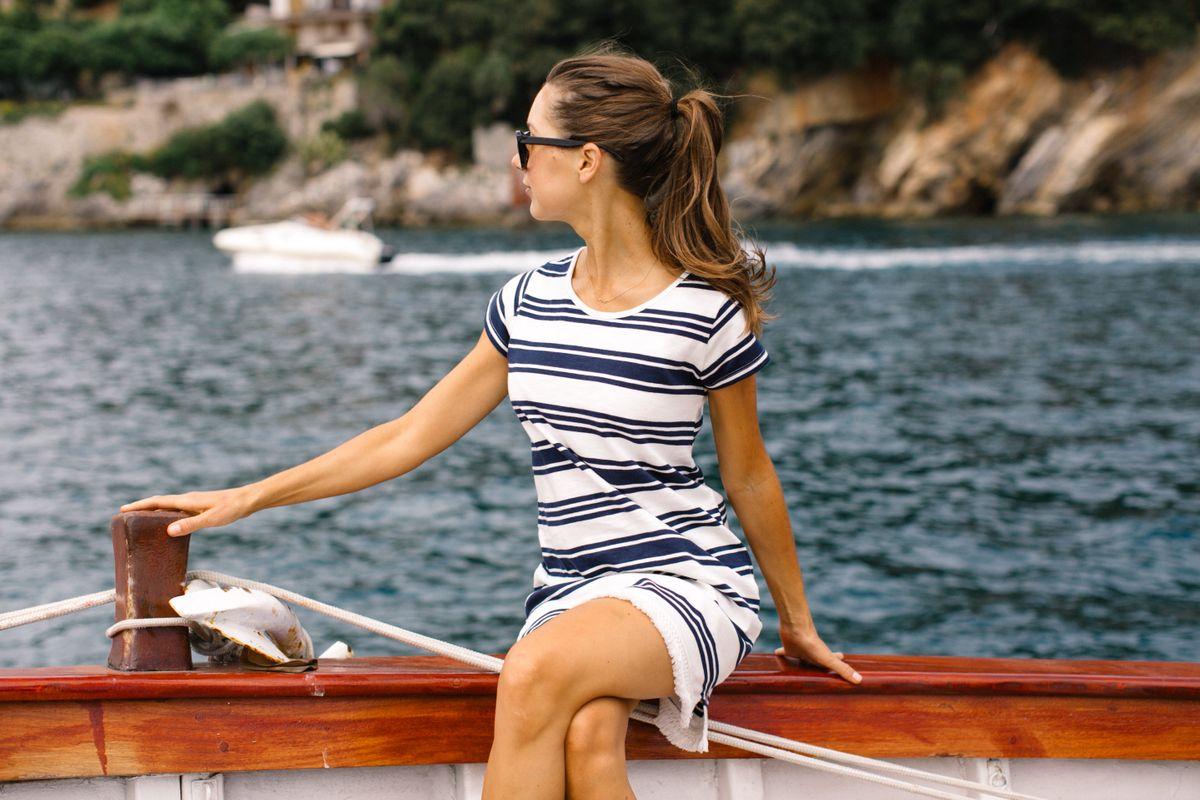 boat day in portovenere italy