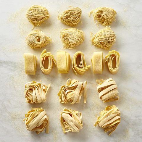 assorted pasta sampler