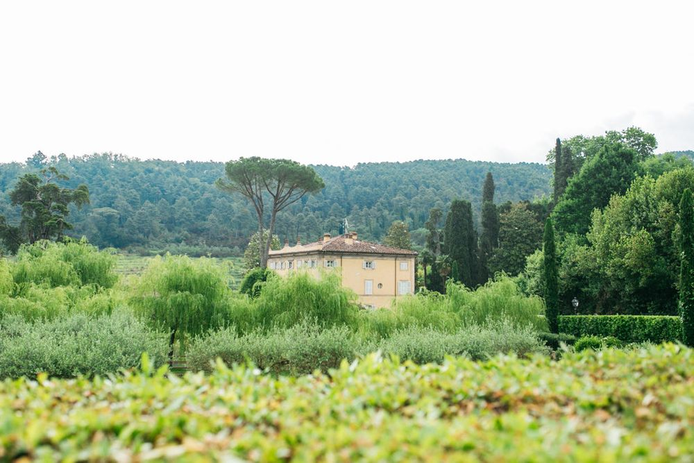 gardens surrounding the villa