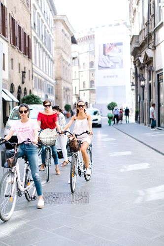 bike riding in florence italy