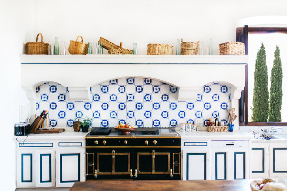 dreamy kitchen in florence italy