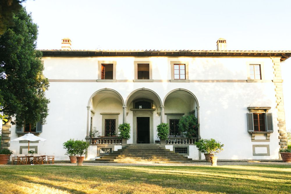 gorgeous villa outside of florence italy