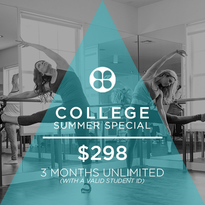 3 Months of Unlimited Classes  for $298