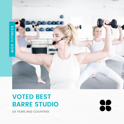 VOTED BEST BARRE STUDIO IN AUSTIN