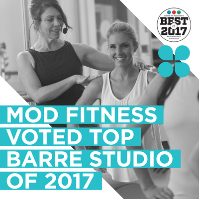 VOTED TOP BARRE STUDIO 2017