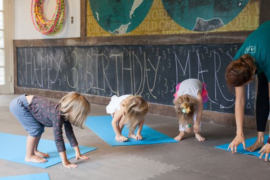 Kid's Yoga Party