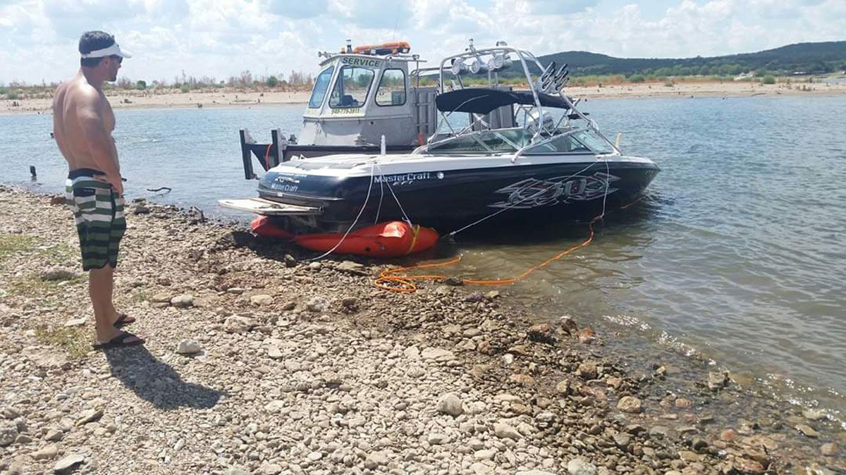 Lake Travis Boat Recovery