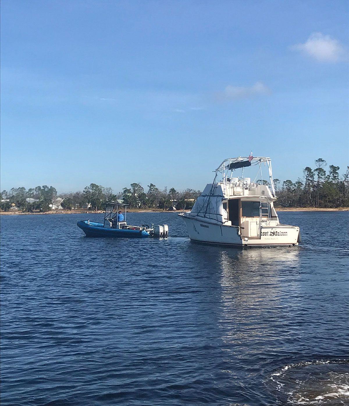 Boat Towing Southwest Florida