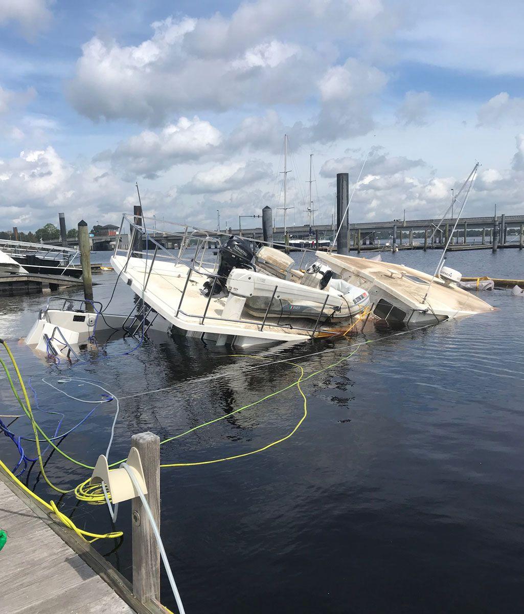 Sunken Boat Recovery Service