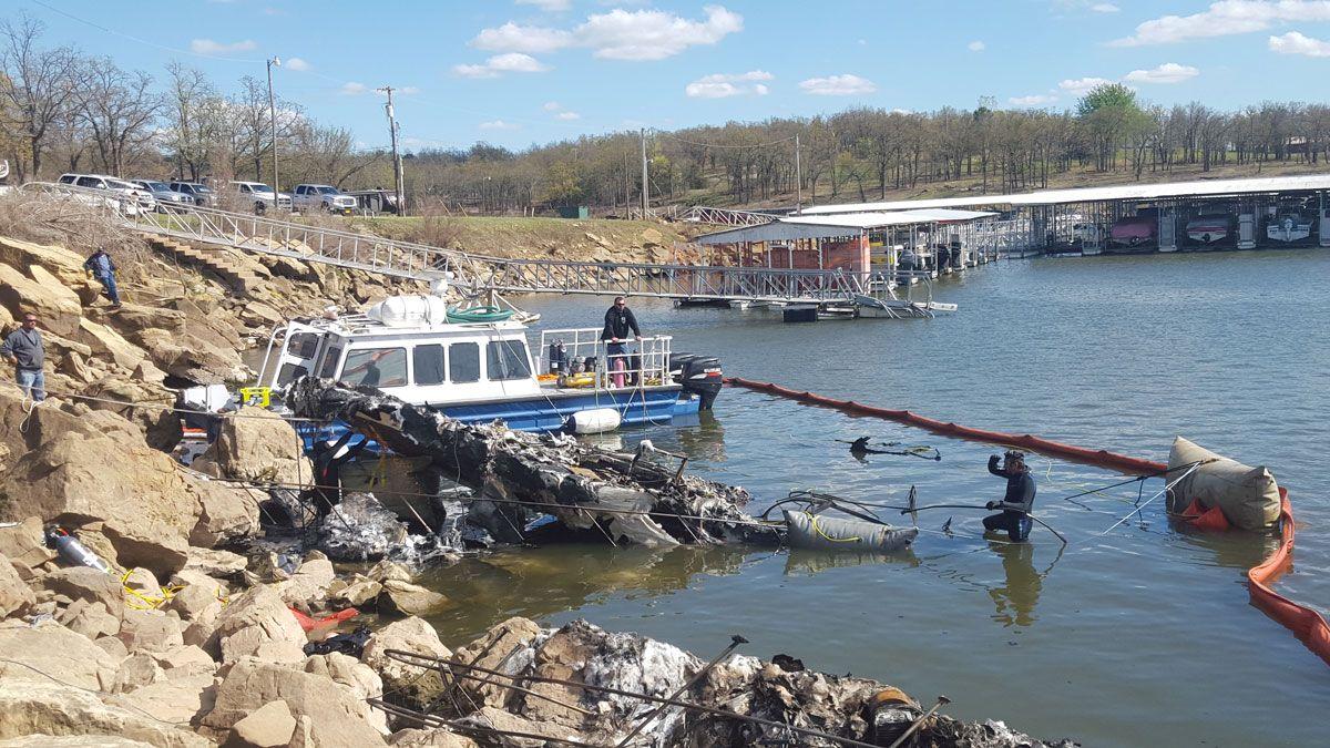 Sunken Boat Salvage Service