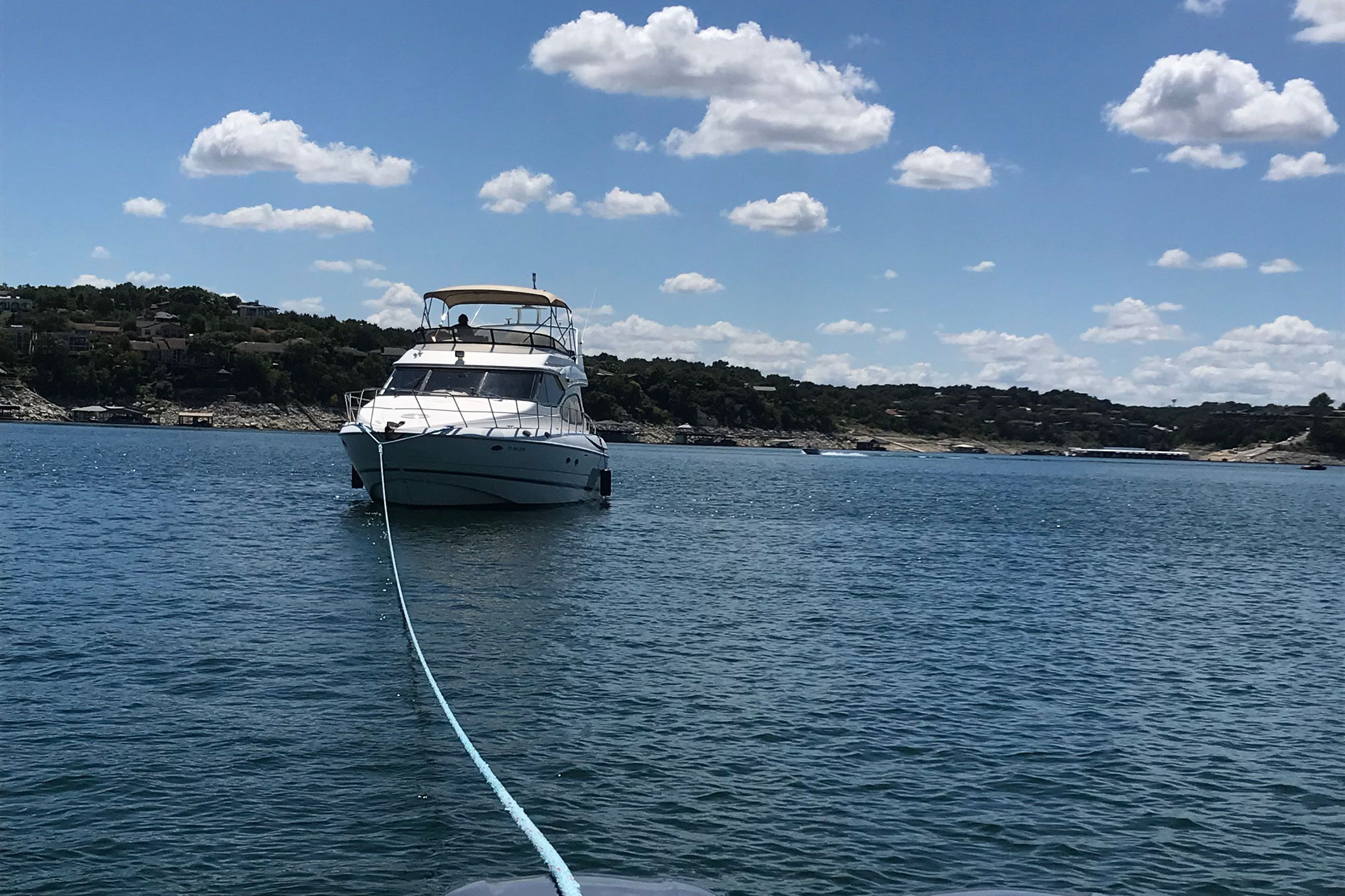 Lake Travis Boat Towing