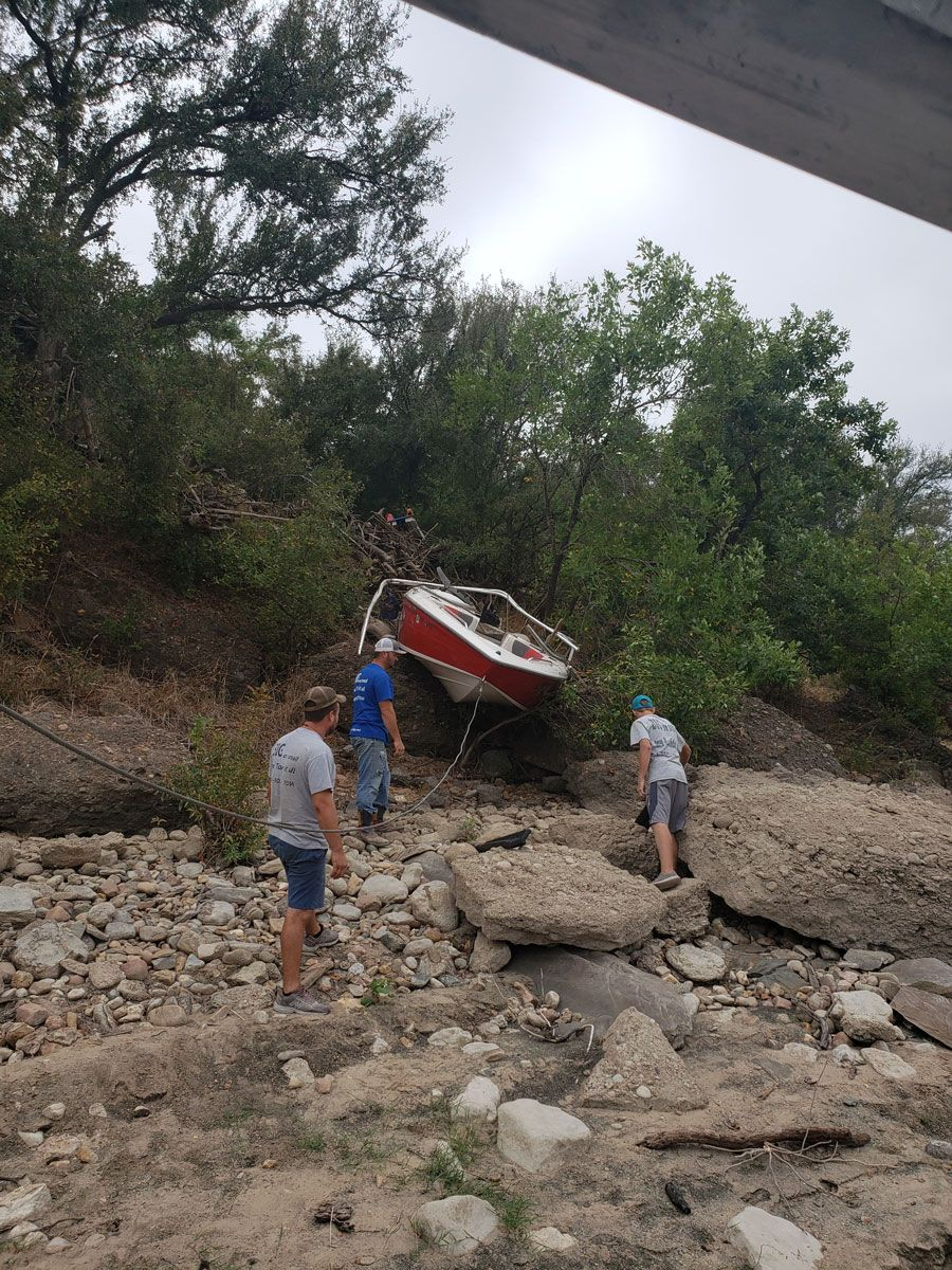 Boat Recovery Service in Texas