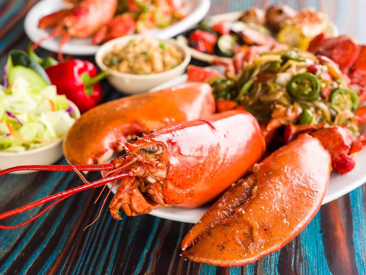 Lobster Menu Photography