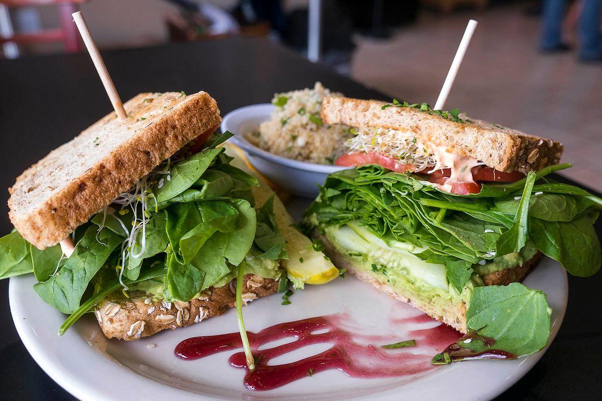 Vegetarian Menu Photography