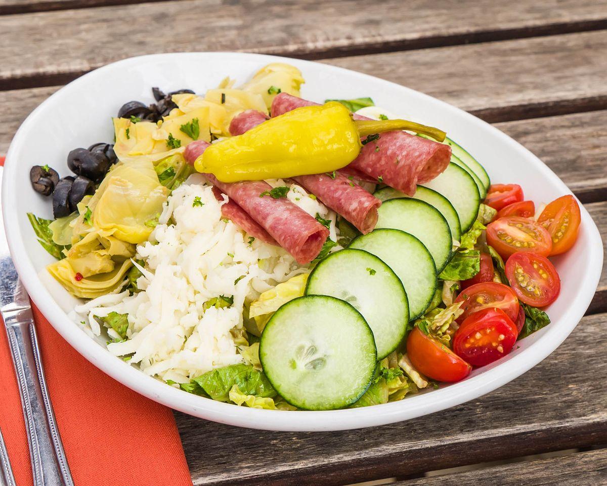 Salad Menu Photography
