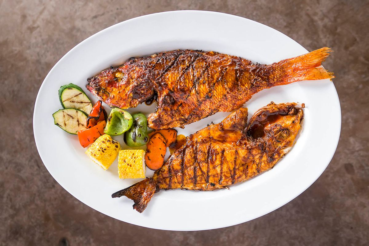 Red Snapper Menu Photography