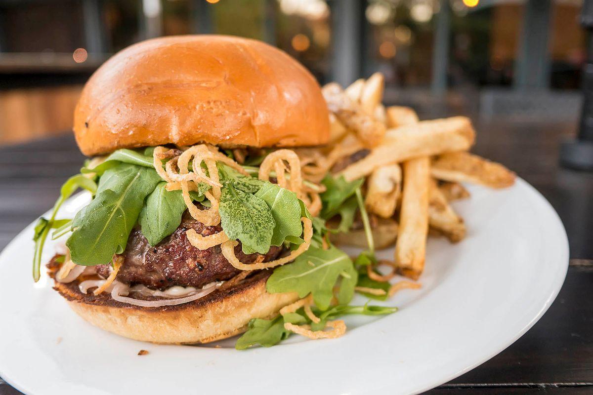 Burger Menu Photography