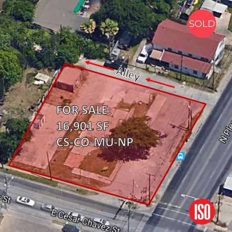 SOLD/Development site in East Austin