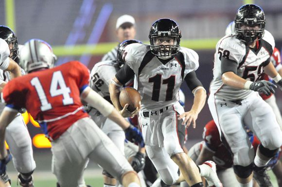 Baker Mayfield of LTHS vs. Westlake High School 2011