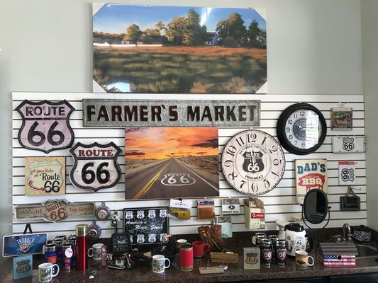 Located on Route 66