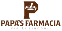 Papa's Farmacia Via Luzianna Logo.png