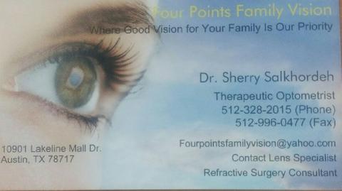 Iranian eye doctor