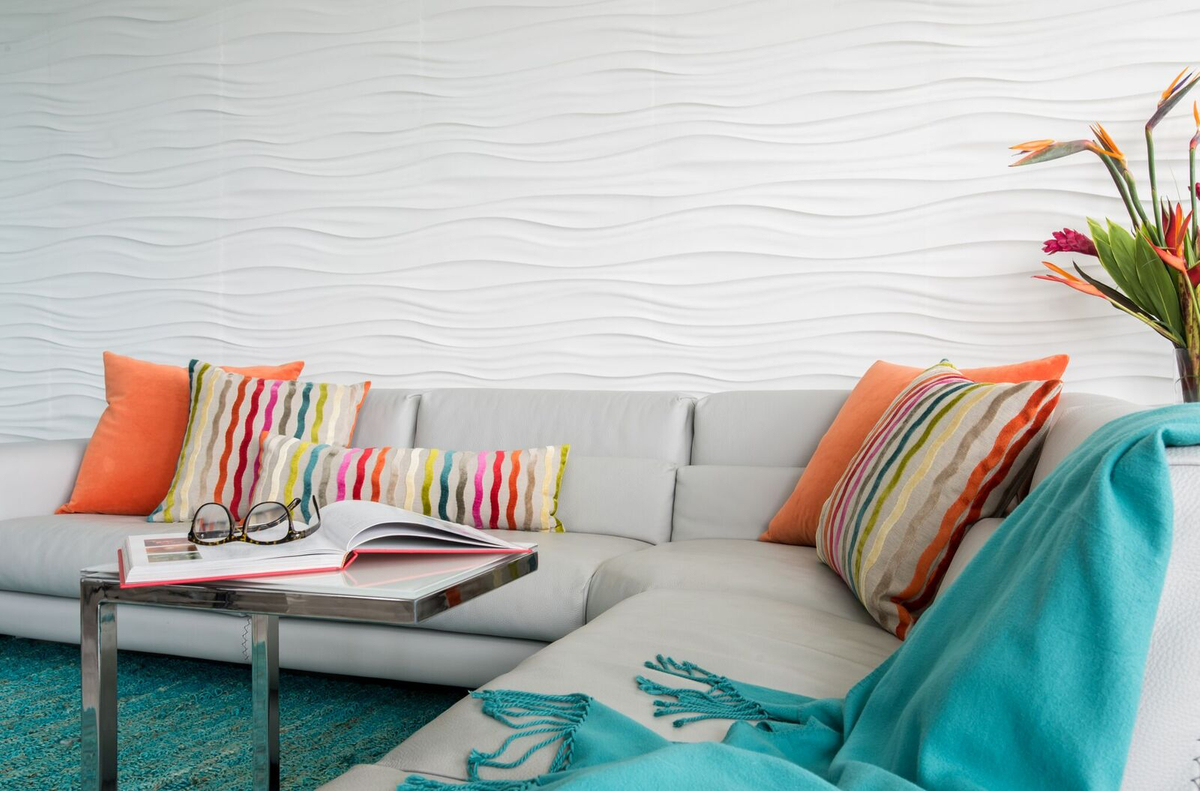 Tropical Living area