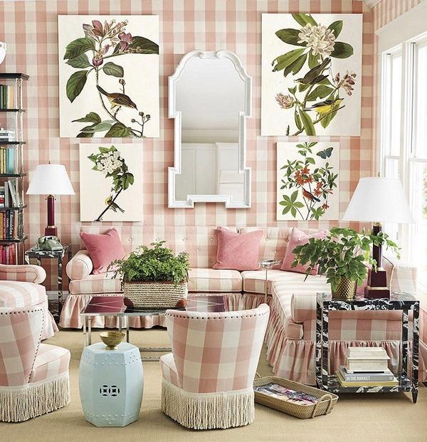 pink gingham botanicals.jpg
