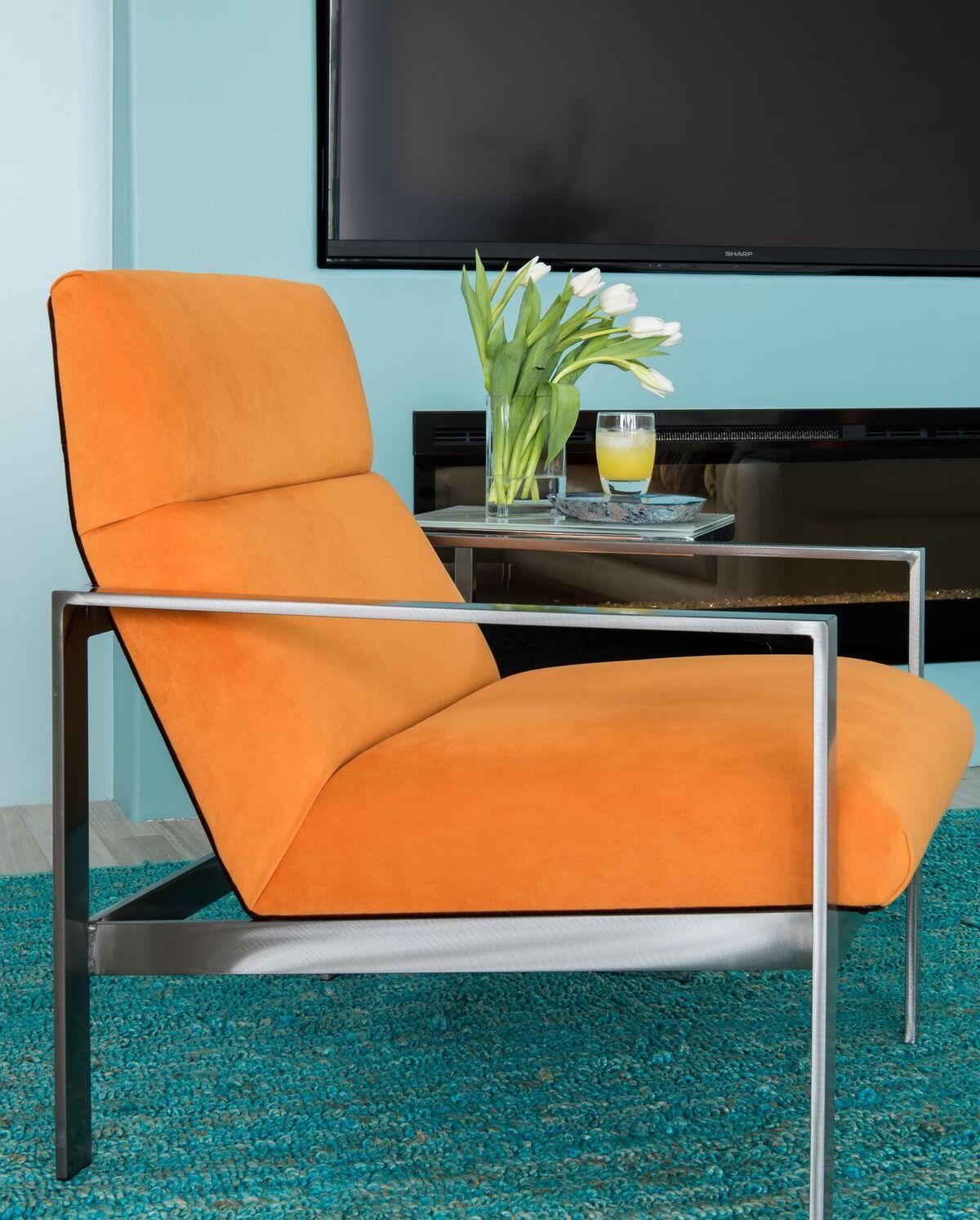 Modern Orange Chair
