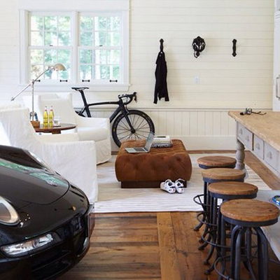 man cave with porshe.jpg