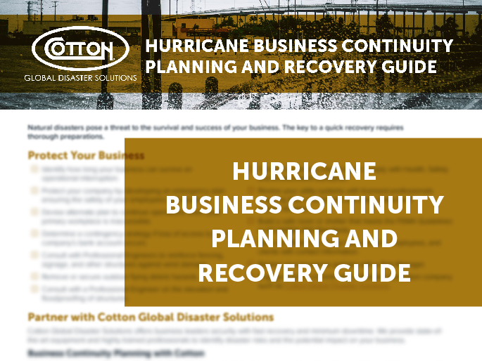 Business Continuity Plan Checklist