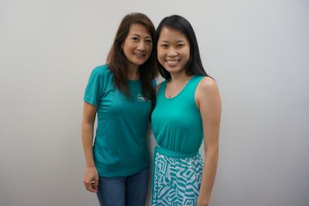 Kim & Christine