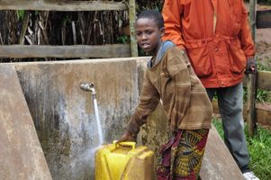 Gilbert Tuhabonye's Gazelle Foundation benefits clean water initiatives in Burundi, Africa