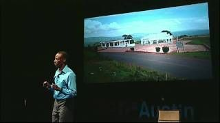 Gilbert Tuhabonye speaking about overcoming suffering through running at TEDxAustin