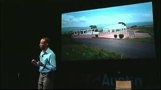 Gilbert Tuhabonye speaking about overcoming suffering through running at TEDxAustin