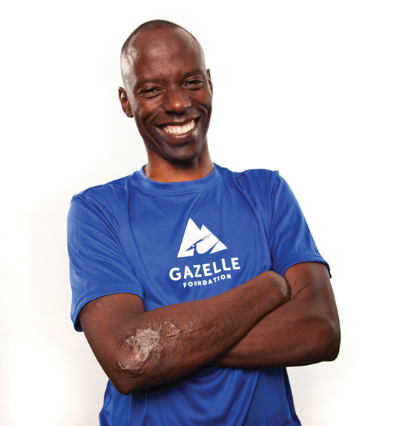 About Gilbert Tuhabonye, co-founder of Gazelle Foundation