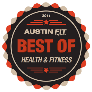 Austin Fit Magazine named Gilbert's Gazelles Best of Health & Fitness in 2011
