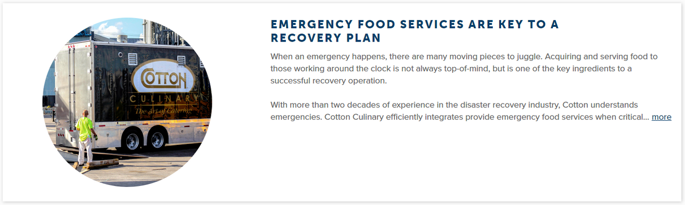 Emergency Food Services are key to recovery plan.PNG
