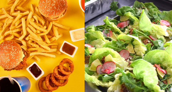 Fast Food vs. Business Lunch Catering