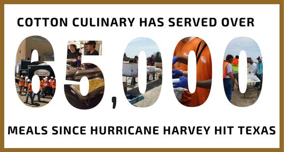 Cotton Culinary Hurricane Harvey