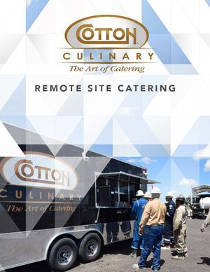 Remote Site Catering