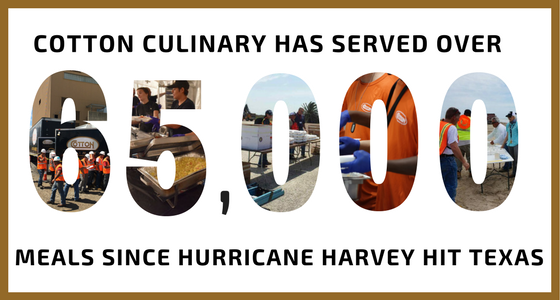 Cotton Culinary Hurricane Harvey
