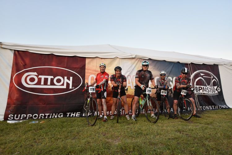 Cotton Company BP MS 150 Cycling Team.JPG